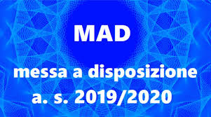 DETERMINA D.S. GESTIONE MAD A.S. 2019/2020